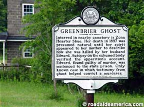 Haunted Attractions In Pa And Nj by Greenbrier Ghost Trial Marker Sam Black Church West Virginia