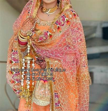 Heavy Dupatta Punjabi Suits Bridal Suit Maharanidesigner