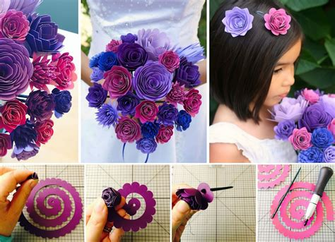 wonderful diy gorgeous paper flower bouquet  wedding