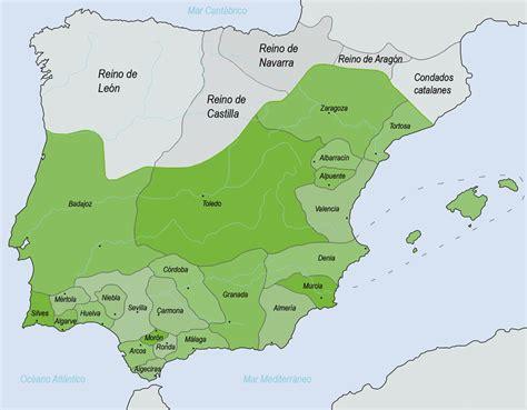 The Taifa Kingdoms (ca 10101090) Ethnic And Political