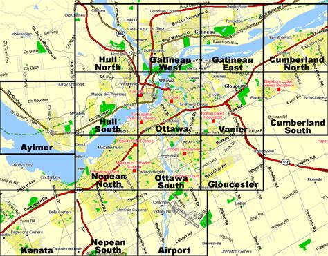 ottawa area overview map