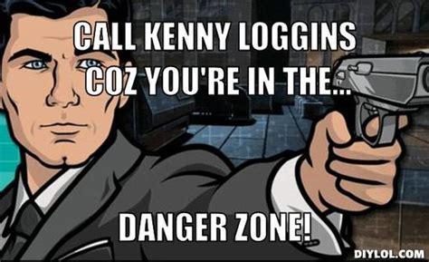 Archer Danger Zone Meme - danger zone danger zone fimfiction net