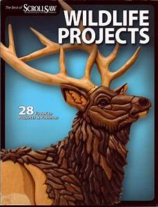 Intarsia Concepts - The Best of SSWC - Wildlife projects