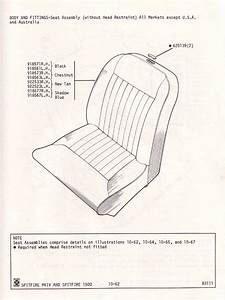 Seat Assembly  Without Head Restraint