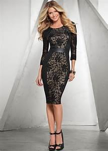 Bon Prix De Online Shop : die besten 20 schwarzes kleid mit rmeln ideen auf pinterest kleider schwarz winter kleider ~ Bigdaddyawards.com Haus und Dekorationen