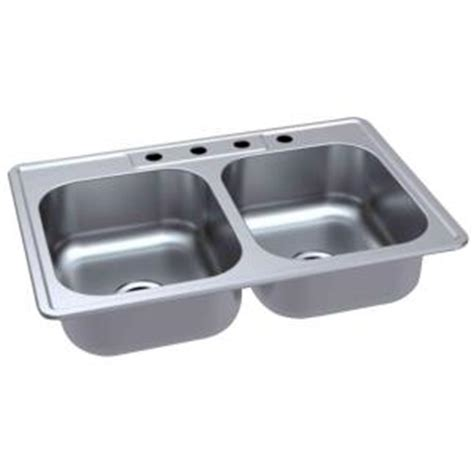 glacier bay kitchen sink glacier bay top mount 33 in 4 bowl kitchen 3755