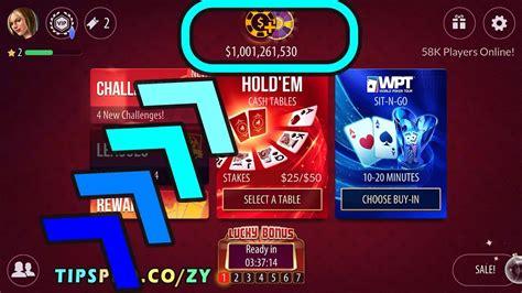 poker zynga chips hack