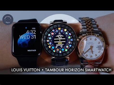 louis vuitton tambour horizon  smartwatch review part