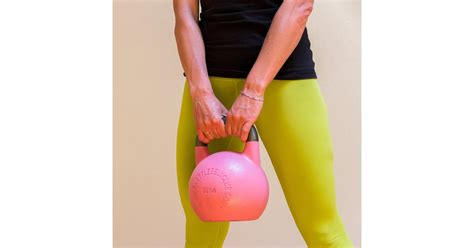 kettlebell weight loss safety exercises popsugar