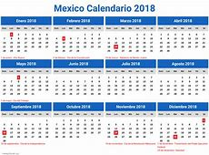 calendario 2018 en mexico newspicturesxyz