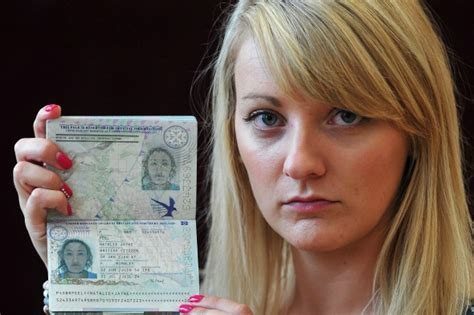 passport disaster woman ends   wrong photo