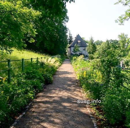 Gartenimpulse Weimar Goethes Gartenhaus In Voller