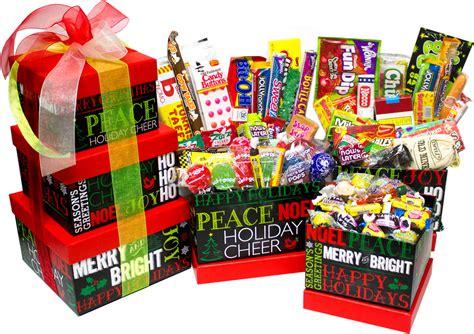 Chalkboard Holiday Nostalgic Candy Gift Tower