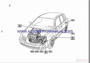 Renault Vel Satis X73 Nt8176a Disk Wiring Diagrams Manual 07