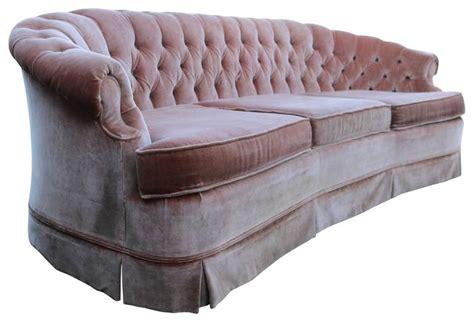 1960s tufted pink velvet chesterfield sofa at 1stdibs