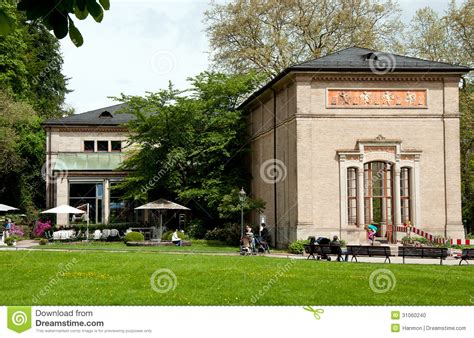 The Spa Complex In Germany by The Trinkhalle In Baden Baden Editorial Image Image