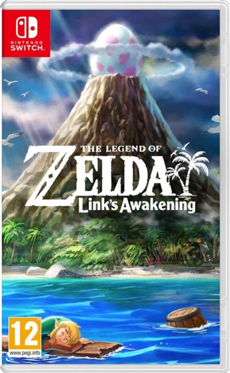 First Look At The Legend Of Zelda Links Awakening Boxart