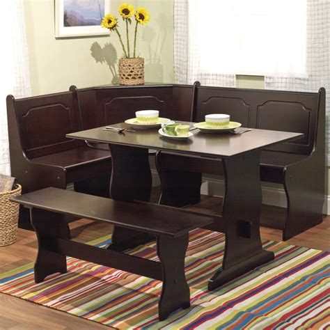 corner nook dining table furniture best dining room table sets and ideas new home