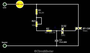 Simple Electronic Fan Regulator Circuit Pcb