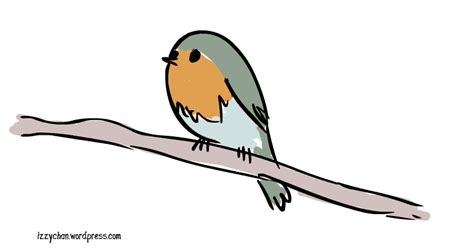Spring Robin Sticker For Ios & Android