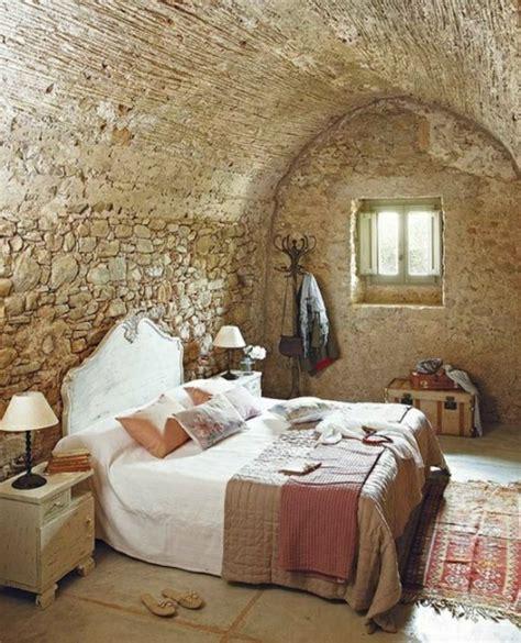 chambre avec mur en le mur en apparente en 57 photos