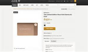 Starbucks 450 Gift Cards That Give Holders 39gold Level