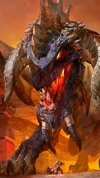 Mobile Hearthstone Wallpapers Nefarian Warcraft Arena Phone