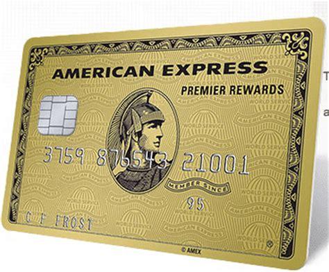 American Express Premier Rewards Gold Card Bonus Points