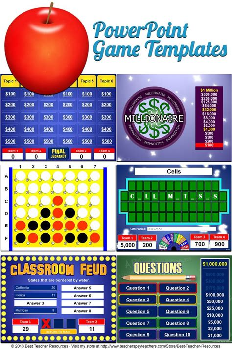 Free Family Feud Powerpoint Game Template