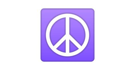 Peace Symbol Emoji Mean?