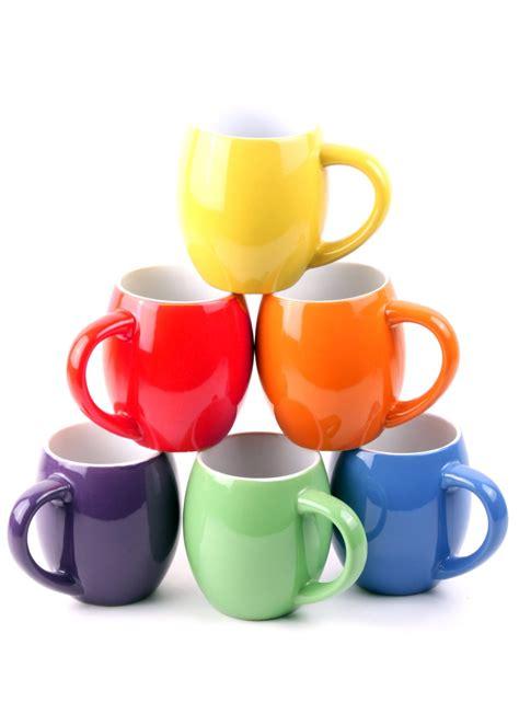 6 colorful ceramic coffee mugs just 99 reg 79 99