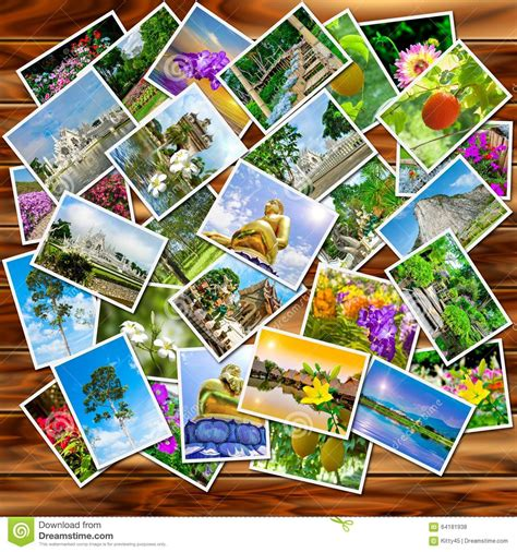 A Stack Of Photographs Stock Photo Image Of Empty