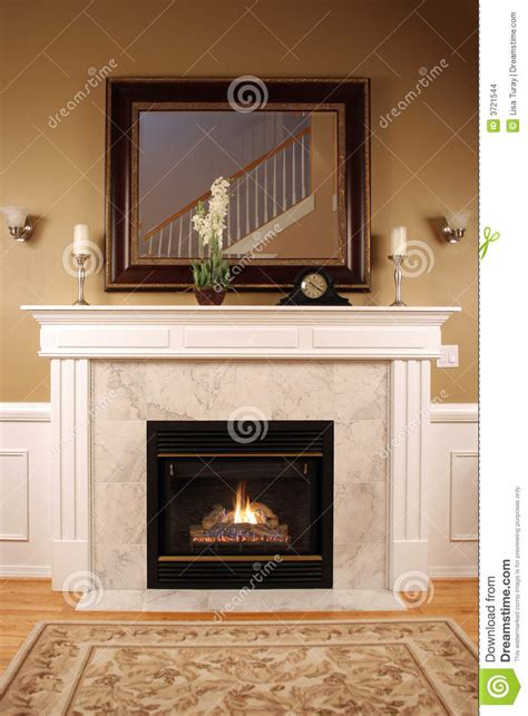 warm  cozy fireplace stock images image