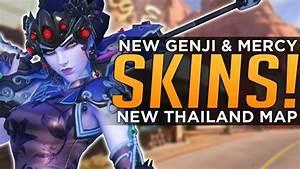 Overwatch NEW Widow Mercy Genji SKINS Coming