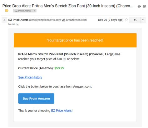 bootstrap email template ez price alerts a django app for tracking prices calazan