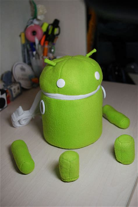 Android Robot Plush Bag Best Birthday T Ever