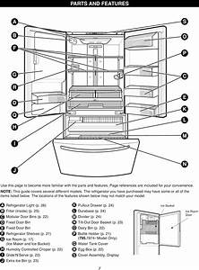 31 Kenmore Elite Refrigerator Parts Diagram