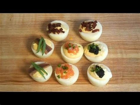 how to cook devilled eggs canapes