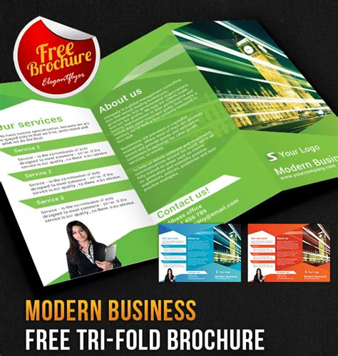 Corporate Brochure Design Psd Free by 65 Print Ready Brochure Templates Free Psd Indesign Ai