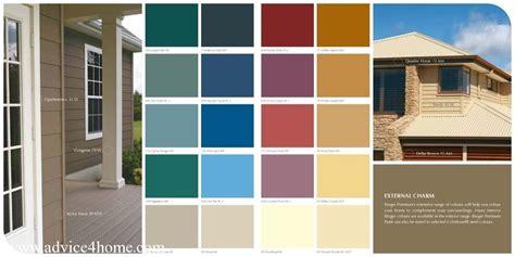 external charm berger paints premium color guide clinic