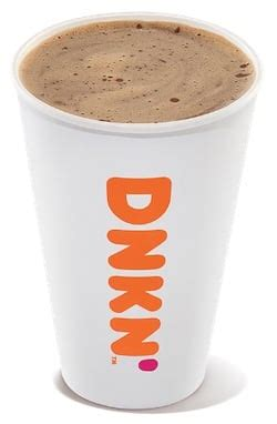 The highest caffeine per dollar drink at dunkin' donuts is the freshly brewed coffee, extra large. Caffeine in Dunkin' Donuts Brewed Coffee