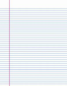 A4 Lined paper templates, Print and download, 15 ...
