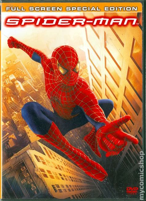 spider man dvd   columbia pictures comic books