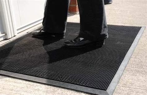 Rubber Entry Door Mats by Durable Corporation Heavy Duty Rubber Fingertip Entrance