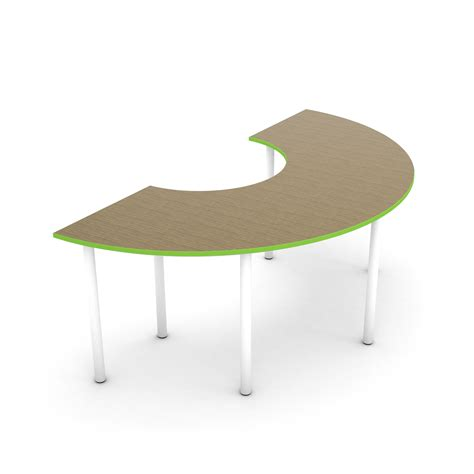 Circle Table by Collaborative Collective Semi Circle Table Norvanivel Us