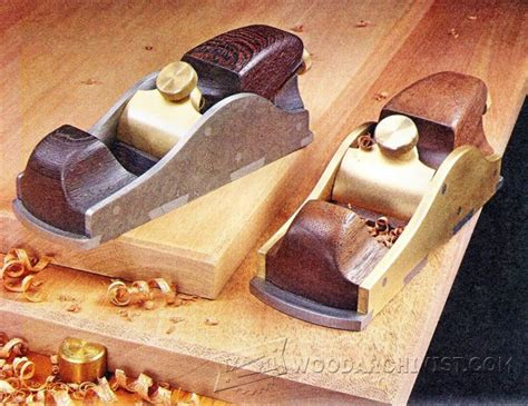 custom infill block plane woodarchivist