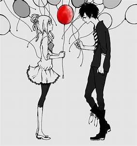 cute anime couples tumblr - Google Search | Anime Couples ...
