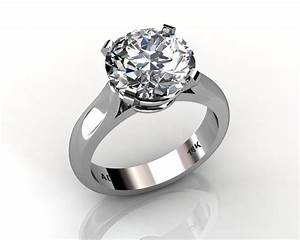 round cut diamond solitaire engagement wedding ring south With wedding rings solitaire