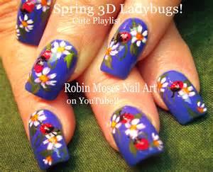 Robin moses nail art quot ladybug nails cute summer
