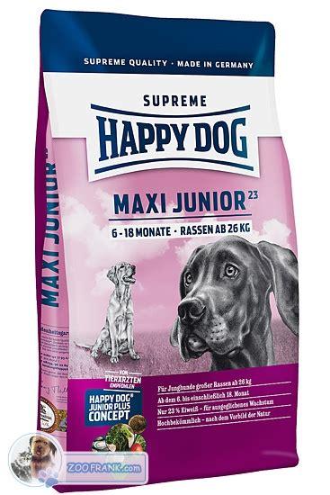 happy junior maxi happy supreme maxi junior gr 23 hundefutter trockenfutter hundefutter nr 6485285